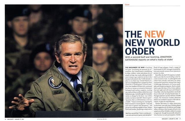 Article Preview: THE NEW NEW WORLD ORDER, January 2003 | Maclean's