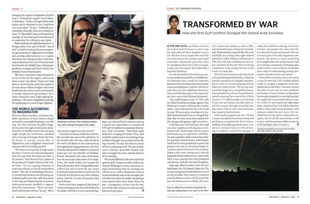 Article Preview: TRANSFORMED BY WAR, January 2003 | Maclean's