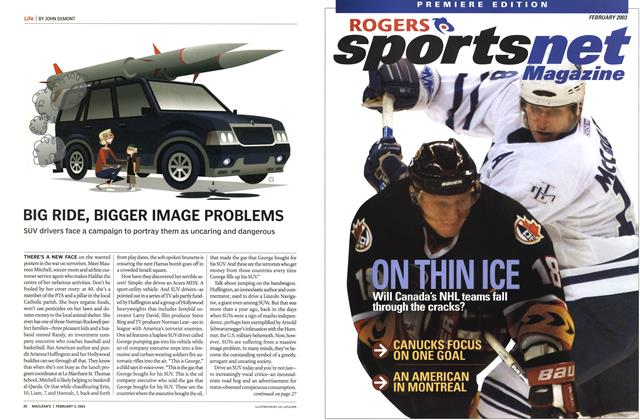 Article Preview: BIG RIDE, BIGGER IMAGE PROBLEMS, February 2003 | Maclean's