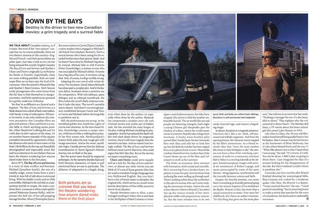 Article Preview: DOWN BY THE BAYS, February 2003 | Maclean's
