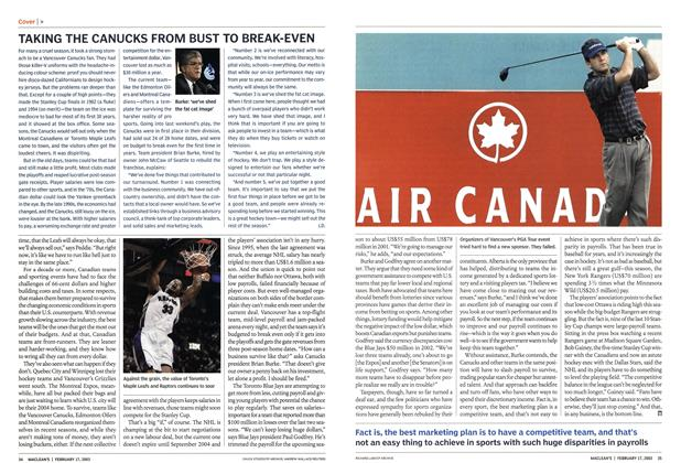 Article Preview: AIR CANADA, February 2003 | Maclean's