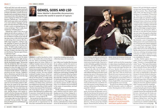 Article Preview: GENIES, GODS AND LSD, February 2003 | Maclean's