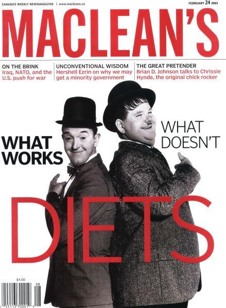 Issue: - February 2003   Maclean's
