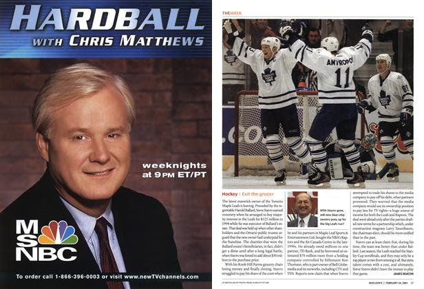Article Preview: Hockey, February 2003 | Maclean's