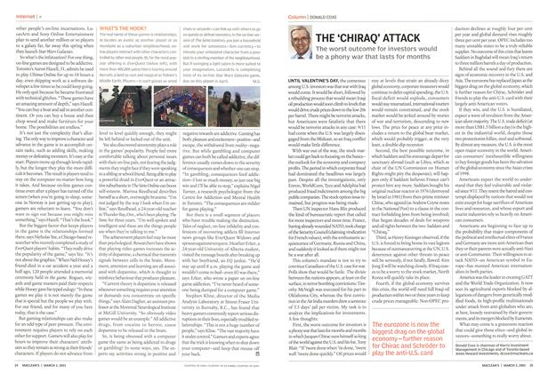 Article Preview: THE 'CHIRAQ' ATTACK, March 2003 | Maclean's