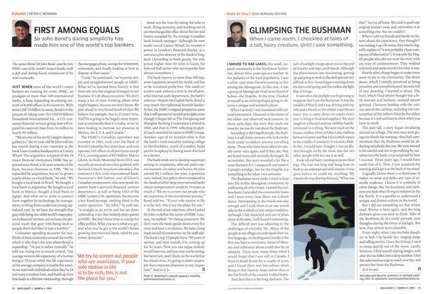 Article Preview: FIRST AMONG EQUALS, March 2003 | Maclean's