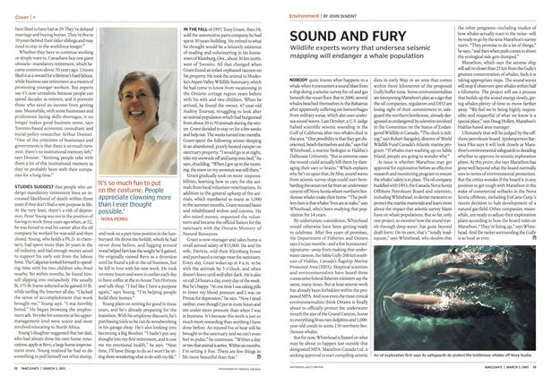 Article Preview: SOUND AND FURY, March 2003 | Maclean's