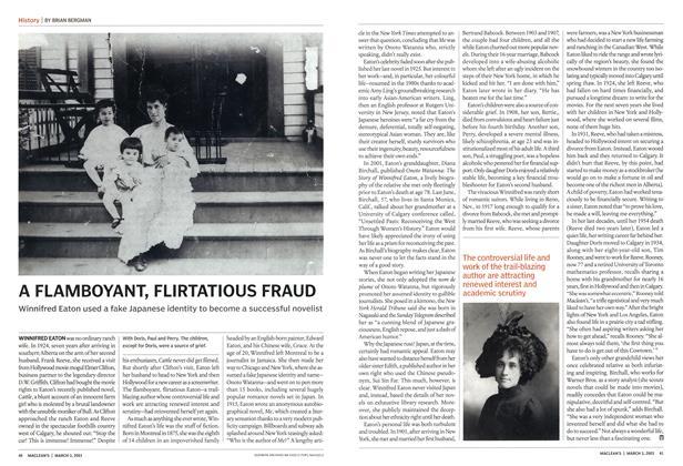 Article Preview: A FLAMBOYANT, FLIRTATIOUS FRAUD, March 2003 | Maclean's
