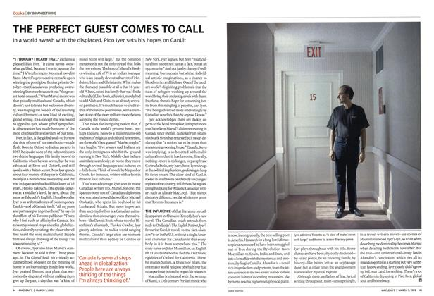 Article Preview: THE PERFECT GUEST COMES TO CALL, March 2003 | Maclean's