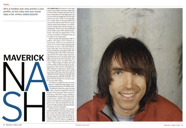 Article Preview: MAVERICK NA SH, March 2003 | Maclean's