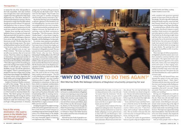 Article Preview: 'WHY DO THEY WANT TO DO THIS AGAIN?', March 2003 | Maclean's