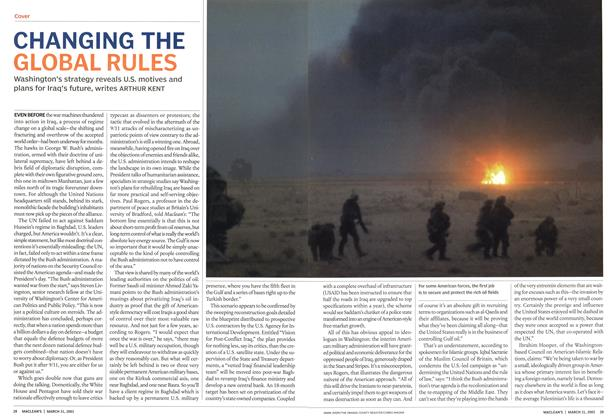 Article Preview: CHANGING THE GLOBAL RULES, March 2003 | Maclean's