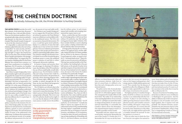Article Preview: THE CHRÉTIEN DOCTRINE, March 2003 | Maclean's