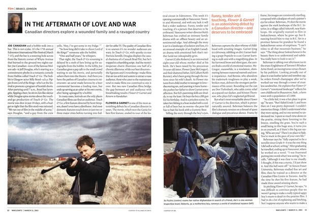 Article Preview: IN THE AFTERMATH OF LOVE AND WAR, March 2003 | Maclean's