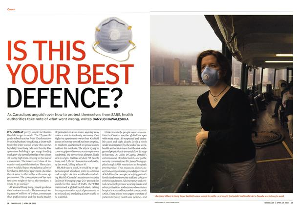 Article Preview: IS THIS YOUR BEST DEFENCE?, April 2003 | Maclean's