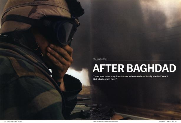 Article Preview: AFTER BAGHDAD, April 2003 | Maclean's