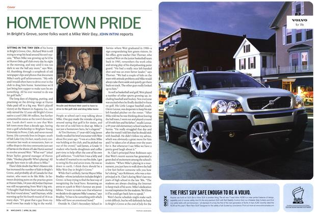 Article Preview: HOMETOWN PRIDE, April 2003 | Maclean's