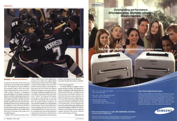 Article Preview: Hockey, May 2003 | Maclean's