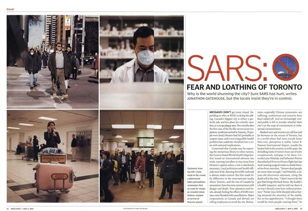 Article Preview: SARS, May 2003 | Maclean's