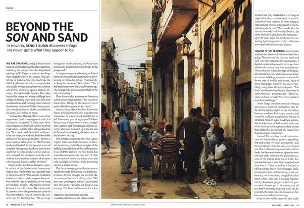 Article Preview: BEYOND THE SON AND SAND, May 2003 | Maclean's