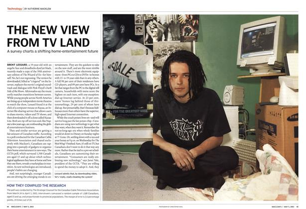 Article Preview: THE NEW VIEW FROM TV LAND, May 2003 | Maclean's