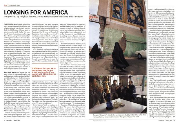 Article Preview: LONGING FOR AMERICA, May 2003 | Maclean's