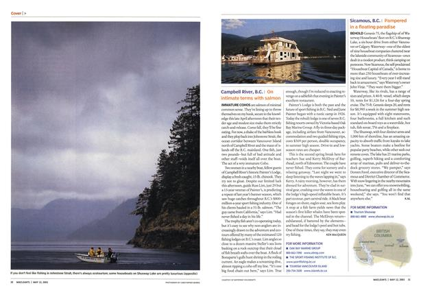 Article Preview: Campbell River, B.C., May 2003 | Maclean's