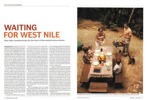 Article Preview: WAITING FOR WEST NILE, May 2003 | Maclean's