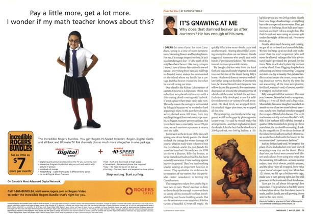 Article Preview: IT'S GNAWING AT ME, May 2003 | Maclean's