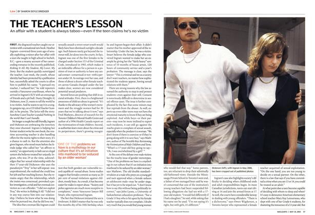 Article Preview: THE TEACHER'S LESSON, May 2003 | Maclean's
