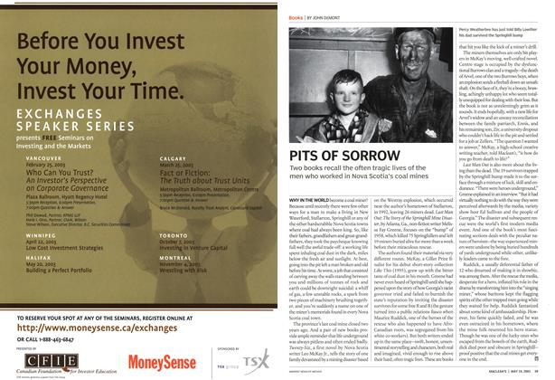 Article Preview: PITS OF SORROW, May 2003   Maclean's