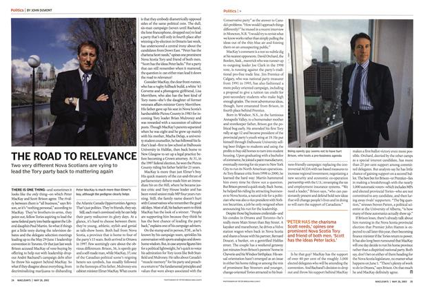 Article Preview: THE ROAD TO RELEVANCE, May 2003 | Maclean's