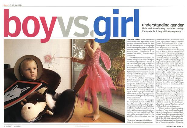 Article Preview: boy vs.girl, May 2003 | Maclean's
