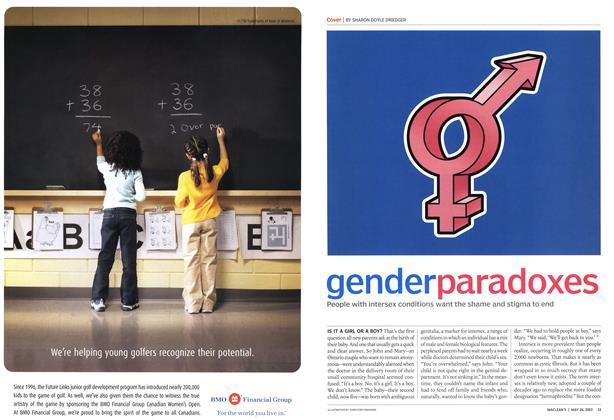 Article Preview: genderparadoxes, May 2003 | Maclean's