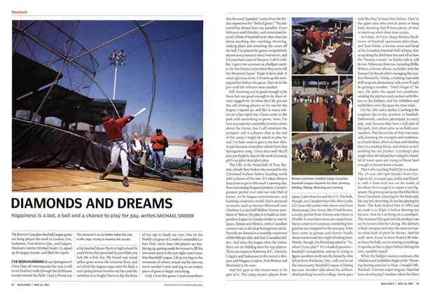 Article Preview: DIAMONDS AND DREAMS, May 2003 | Maclean's