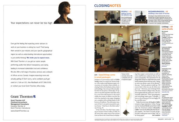 Article Preview: Art, May 2003   Maclean's