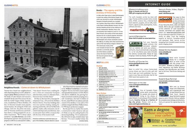 Article Preview: Neighbourhoods, May 2003 | Maclean's