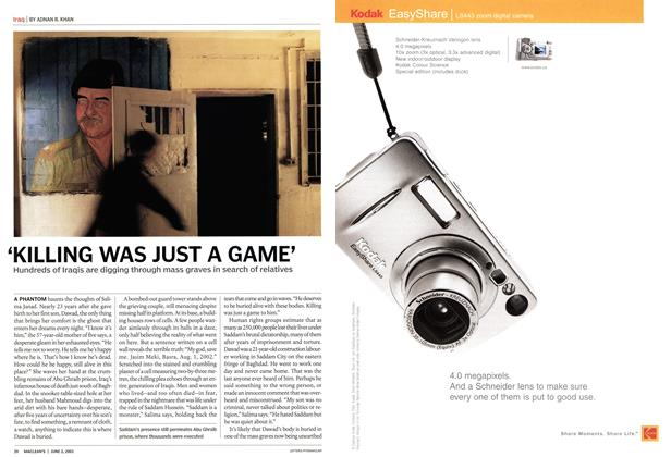 Article Preview: 'KILLING WAS JUST A GAME', June 2003 | Maclean's