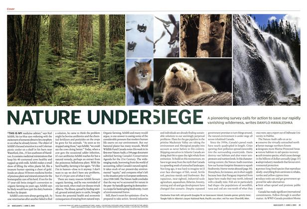 Article Preview: NATURE UNDER SIEGE, June 2003 | Maclean's