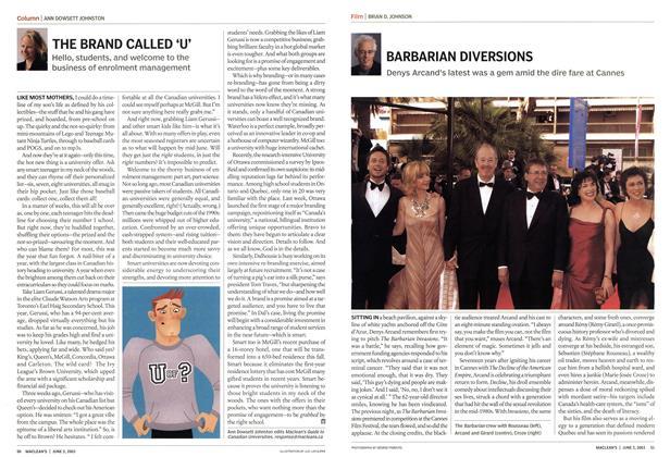 Article Preview: BARBARIAN DIVERSIONS, June 2003   Maclean's