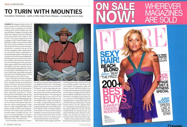 Article Preview: TO TURIN WITH MOUNTIES, June 2003   Maclean's