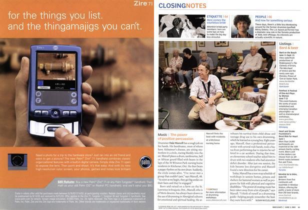 Article Preview: Music, June 2003   Maclean's