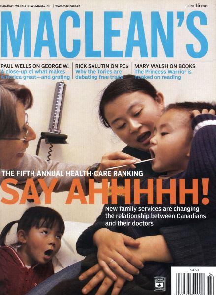 Issue: - June 2003 | Maclean's