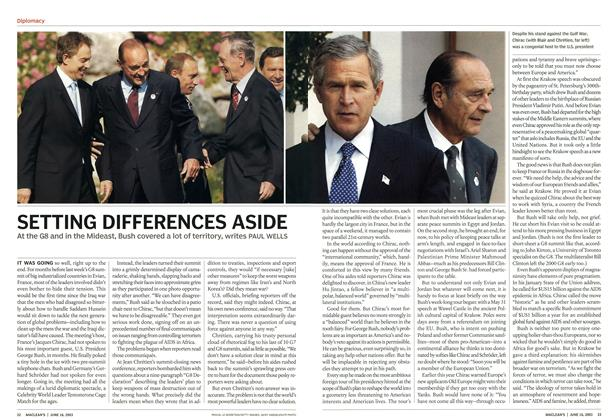 Article Preview: SETTING DIFFERENCES ASIDE, June 2003 | Maclean's