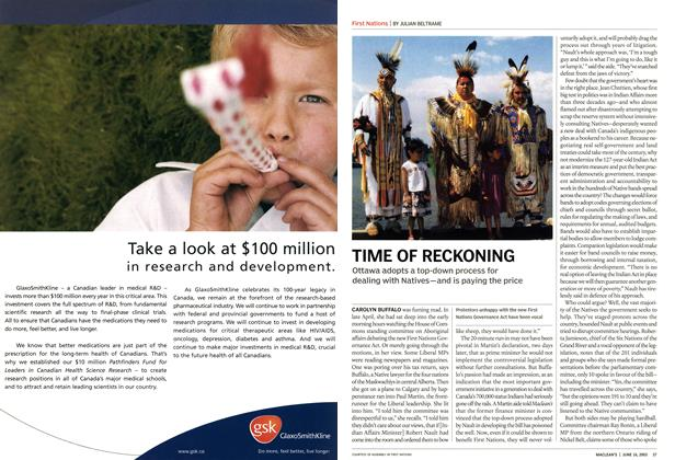Article Preview: TIME OF RECKONING, June 2003 | Maclean's