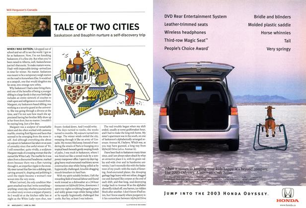 Article Preview: TALE OF TWO CITIES, June 2003 | Maclean's