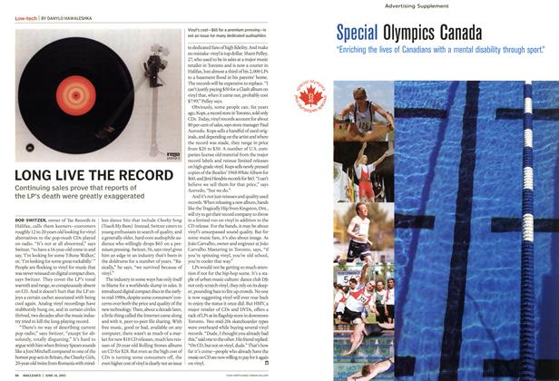 Article Preview: LONG LIVE THE RECORD, June 2003   Maclean's