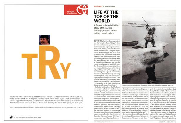 Article Preview: LIFE AT THE TOP OF THE WORLD, June 2003 | Maclean's
