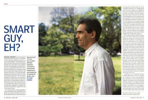 Article Preview: SMART GUY, EH?, June 2003 | Maclean's