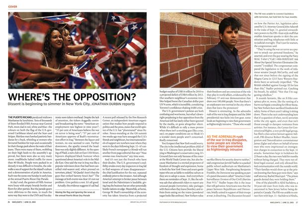 Article Preview: WHERE'S THE OPPOSITION?, June 2003 | Maclean's